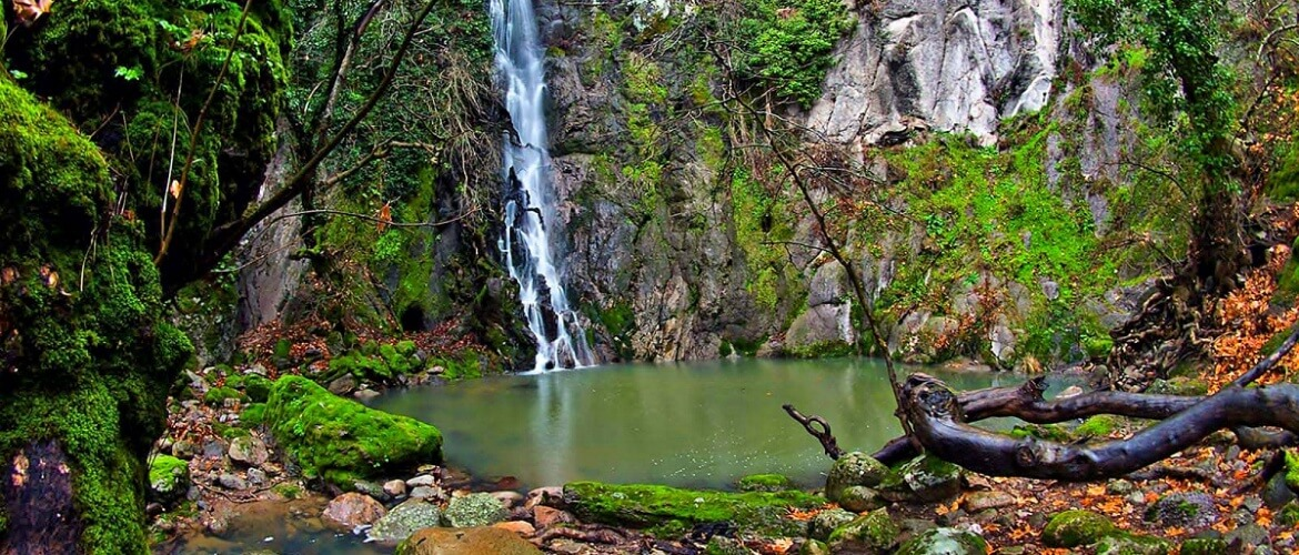 (Greek) Lesvos-Waterfall-in-Klapados