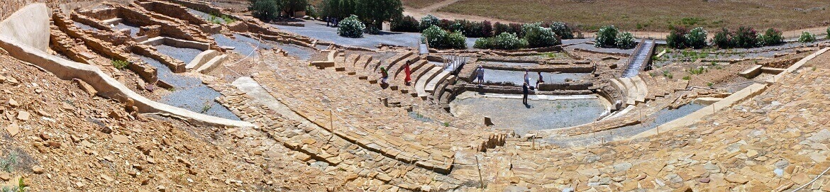 Ancient theater of Ifaistia, Limnos
