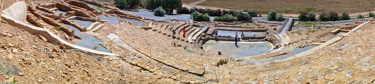Limnos-Ancient theatre of Ifaistia